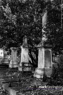 Row of Memorials