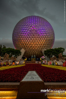 EPCOT's Spaceship Earth...