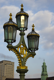 Lamp on Westminster Bridge