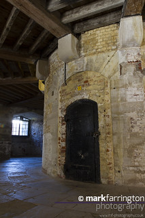 Inside Hurst Castle Keep