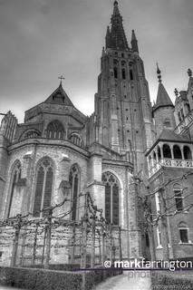 Bruges HDR B&W