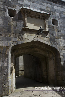 Hurst Castle Entrance