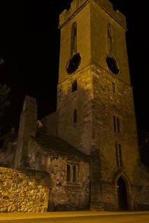Yarmouth Church at Night