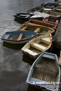 Dinghys at Lymington