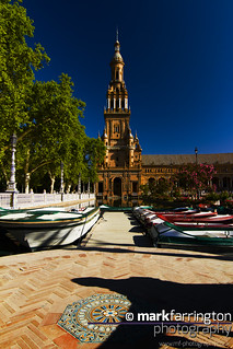 Plaza de España: Boating...