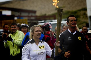 Olympic Torch Relay -...