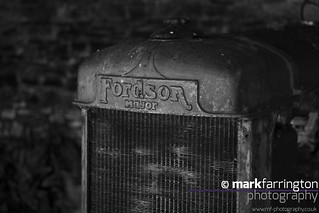 Tyneham Farm, Fordson...