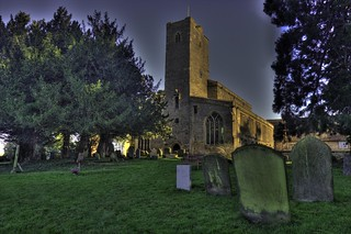 Deerhurst Church & Graveyeard...
