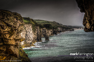 Dunluce Arches HDR