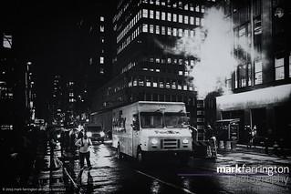 New York Streets B&W