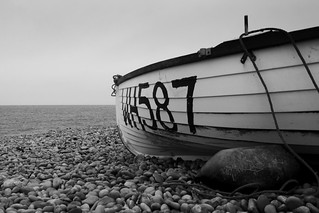 Black & White Dinghy...