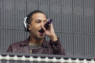 Marvin from JLS DJing...