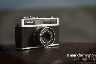 Canonet at the Beach