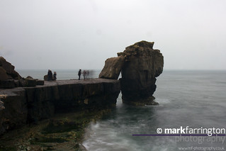 Pulpit Rock in the Rain