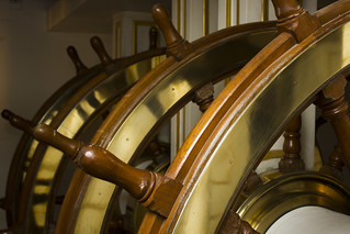 Ships Wheel - Below Decks
