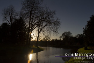 Croome Park Lake, Evening...