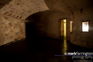 Hurst Castle Vaults HDR