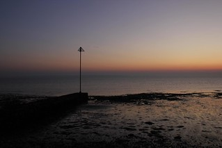 Sunset at Lee on Solent