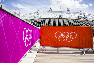 Olympic Stadium Barriers