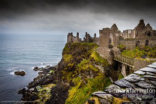 Look out over Dunluce...