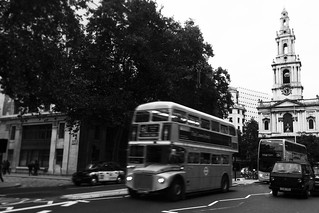 Routemaster Black & White