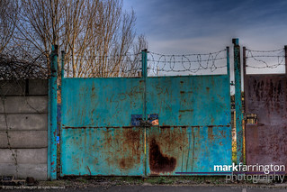 Rusty Gate HDR