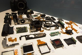 Canon DSLR Disassembled