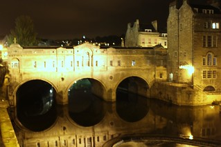 Pultney Bridge at Night,...