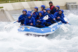Rafters at the Lee Valley...