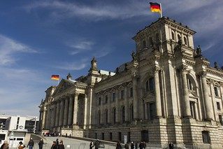 The Rechstag Building...