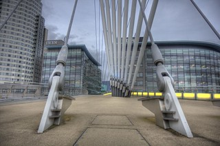 Mediacity Swingbridge...