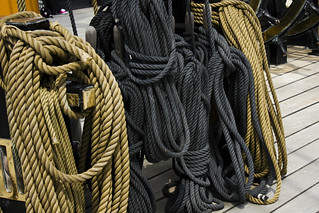 Ropes - HMS Warrior