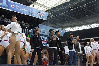 The Wanted at Capital...