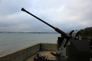 Anti Aircraft Gun, Hamble