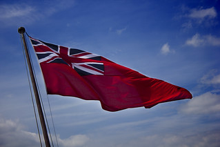 Red Naval Ensign - HMS...
