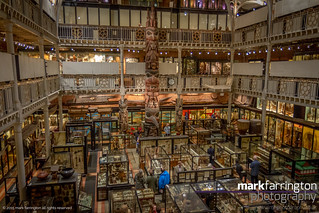 The Pitt Rivers Museim....