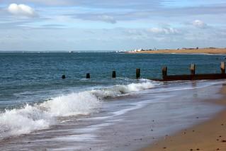 Waves on Hayling Beach