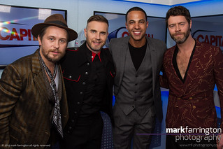 Marvin Humes & Take That