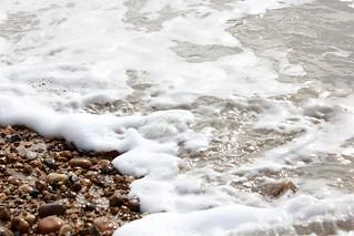 Pebbles on Hayling Beach