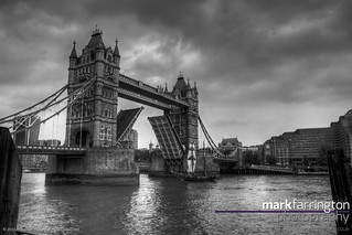 Tower Bridge B&W HDR