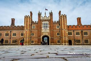 Hampton Court - Low Angle