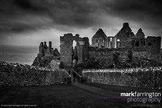 Dunluce Castle Ruins...
