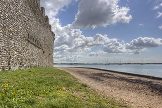 Portchester Castle -HDR