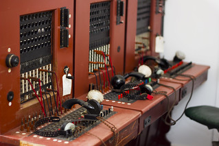 Wartime Telephone Exchange