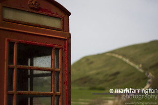 Phonebox & Path to Durdle...