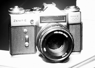 Zenit-E with Helios-44M
