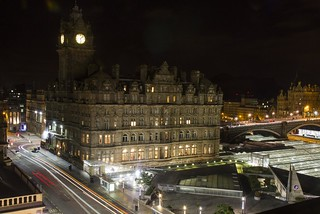 Princes Street at Night