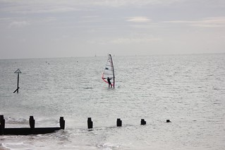 Windsurfer on Hayling...