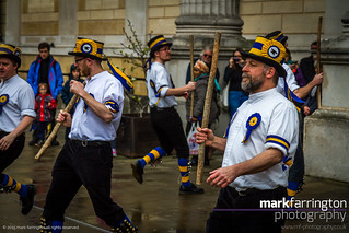 Morris Dancer in Oxford