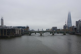 View from Millenium Bridge...